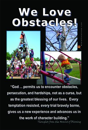 We Love Obstacles